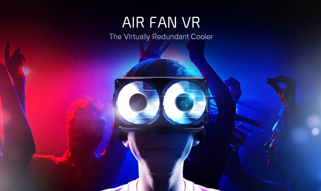 the year of vr is here  cryorig is ready with the air fan